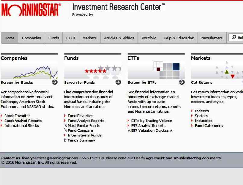 morningstar-screener